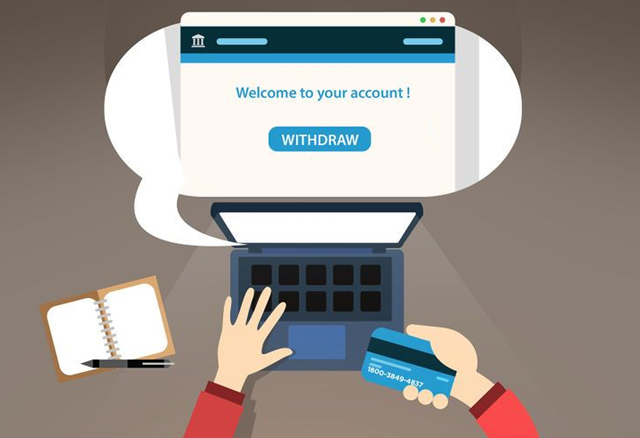 Withdraw money from Cashbackcloud